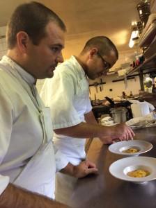 Le Chef et son second Vincent Pléau